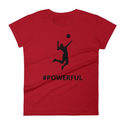 mockup 08c2ed1f 416x416 - Women's short sleeve Volleyball t-shirt