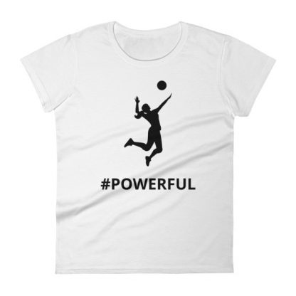 mockup a991cb72 416x416 - Women's short sleeve Volleyball t-shirt