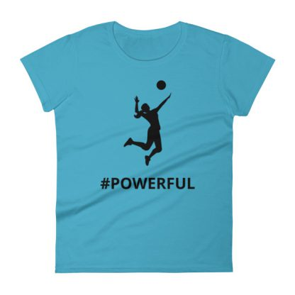mockup 85f95cc2 416x416 - Women's short sleeve Volleyball t-shirt