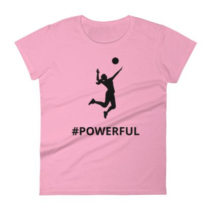 mockup 835c817a 416x416 - Women's short sleeve Volleyball t-shirt