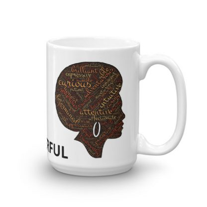 Black Woman Empowerment Mug
