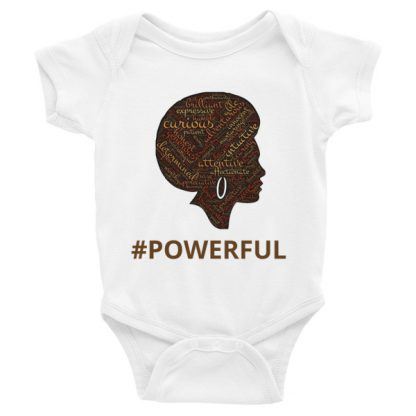 mockup f935c295 416x416 - #POWERFUL Infant Onesie