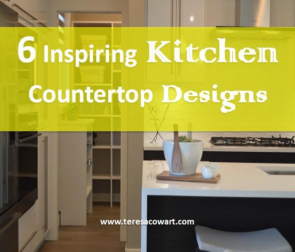 6 Kitchen Countertop Ideas