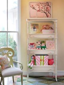 Organized Girls Bedroom