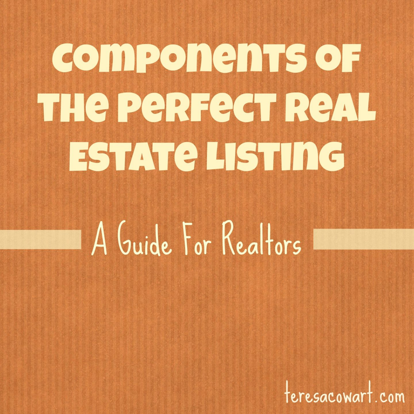 Components of the Perfect Real Estate Listing