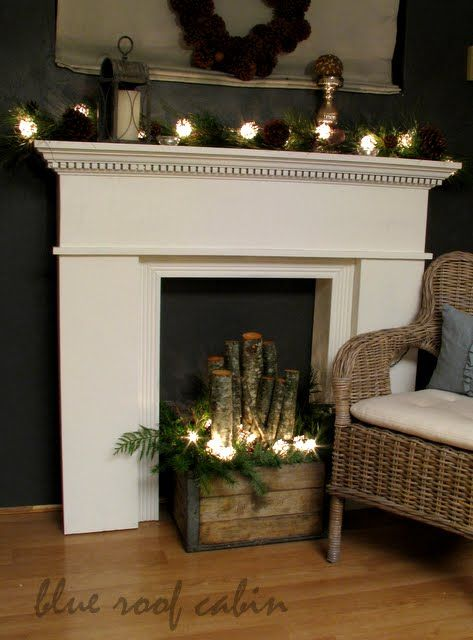 Christmas Fireplace Mantle Decoration Inspiration Teresa Cowart