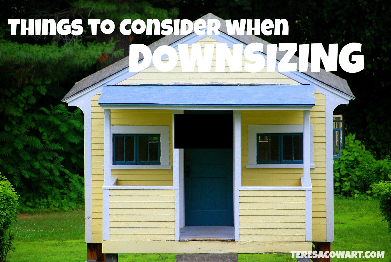 Things to Consider When Downsizing
