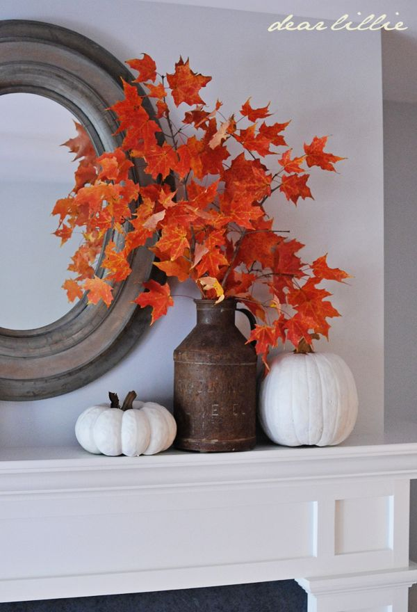 Fall Mantle Focal Point