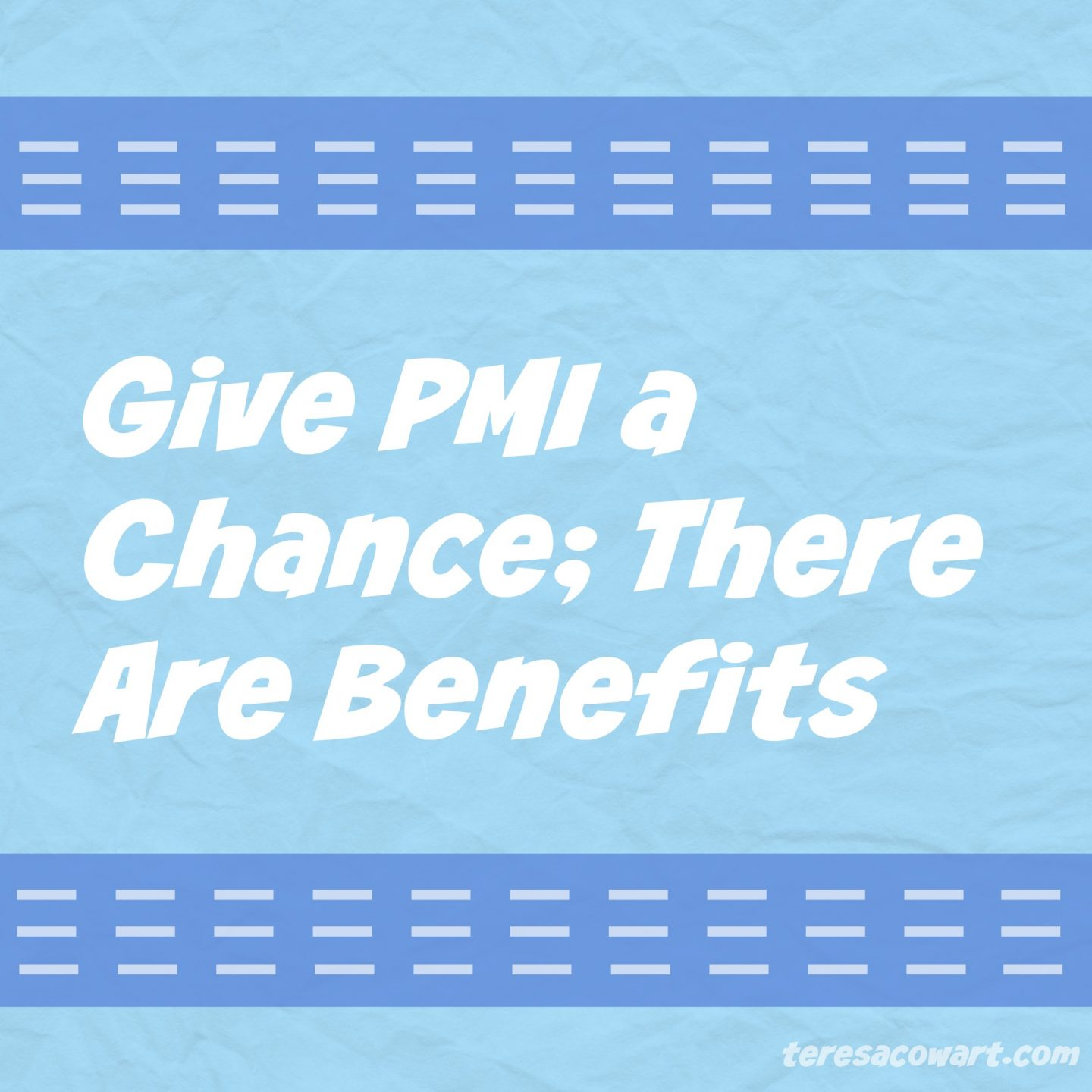Benefits of PMI Insurance