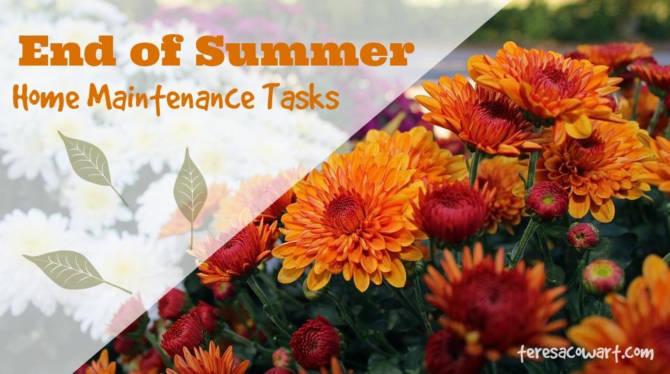 End Of Summer Home Maintenance Tasks