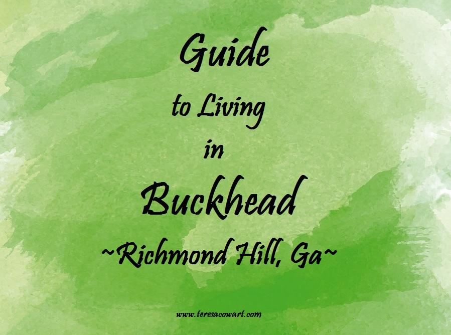 Guide to Living in Buckhead Richmond Hill Ga