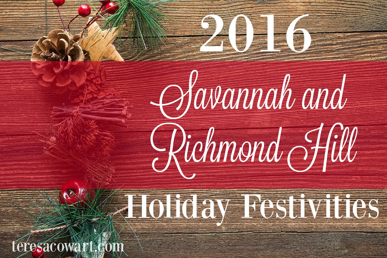 Holiday Events, Activities, and Festivities in Richmond Hill and Savanna, Ga