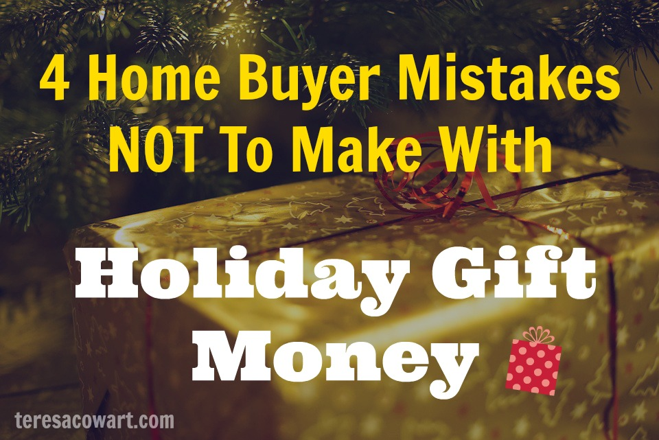 Don't make these mistakes with money you are gifted for a home.