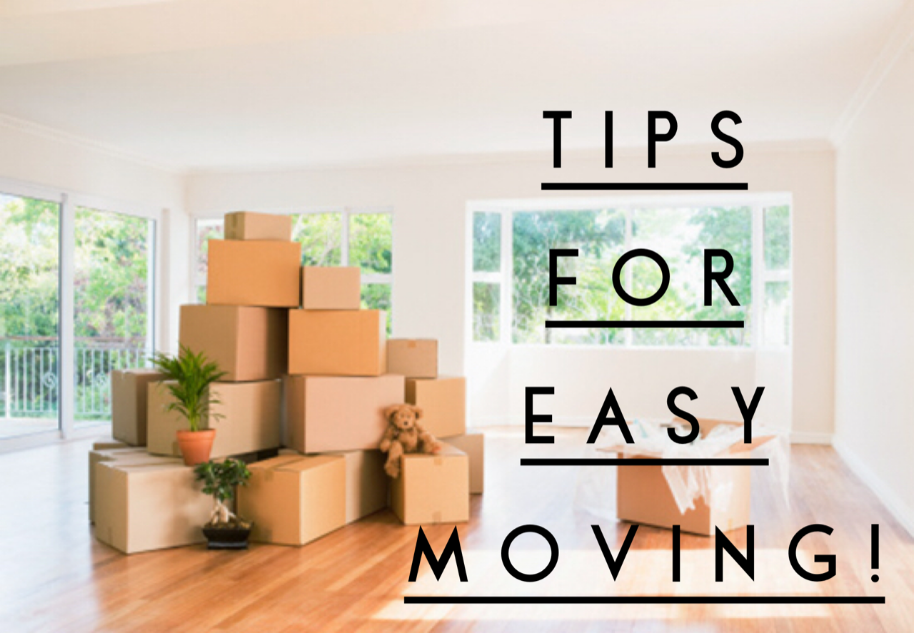 tips for easy moving