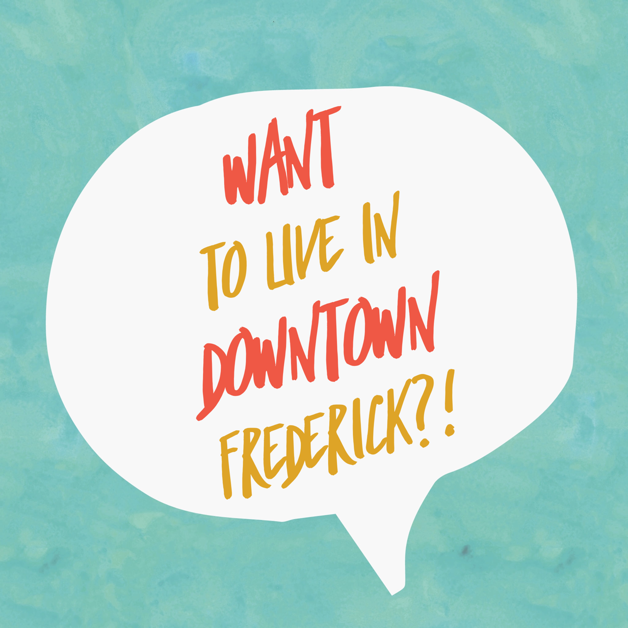 Want to live in downtown Frederick?