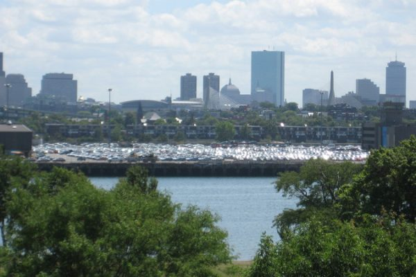 H&H -- Boston & Charlestown skyline views from Admirals Hill  8-15