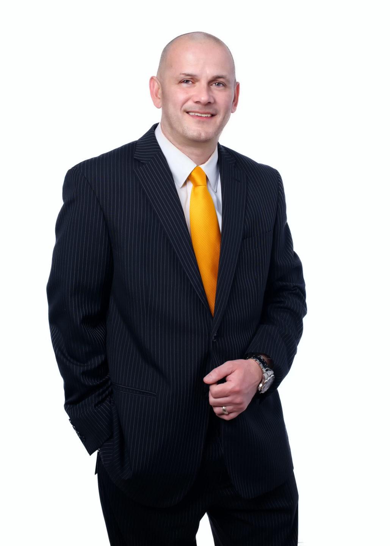 Henry Napier Business Portrait