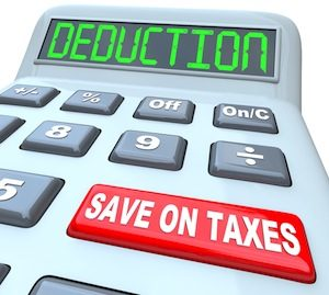 Tax Deduction Benefits Picture