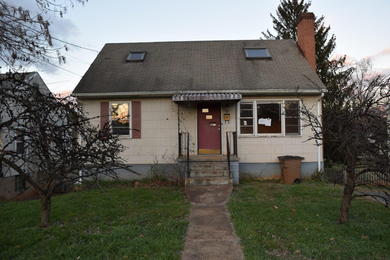 1321 E Market St, Charlottesville, VA 22902  Foreclosure!