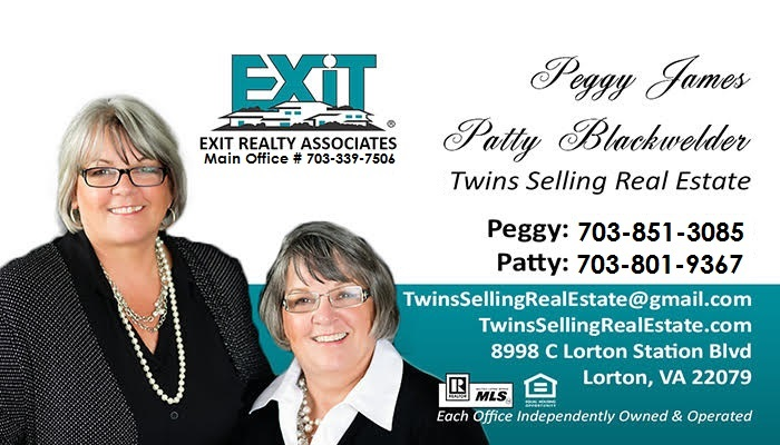 The Twins Selling Real Estate Business Card