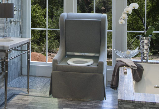 Go Figure… Upholstered Chair Toilet. Be The First On Your Block To Get One Of These.