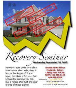 recovery seminar