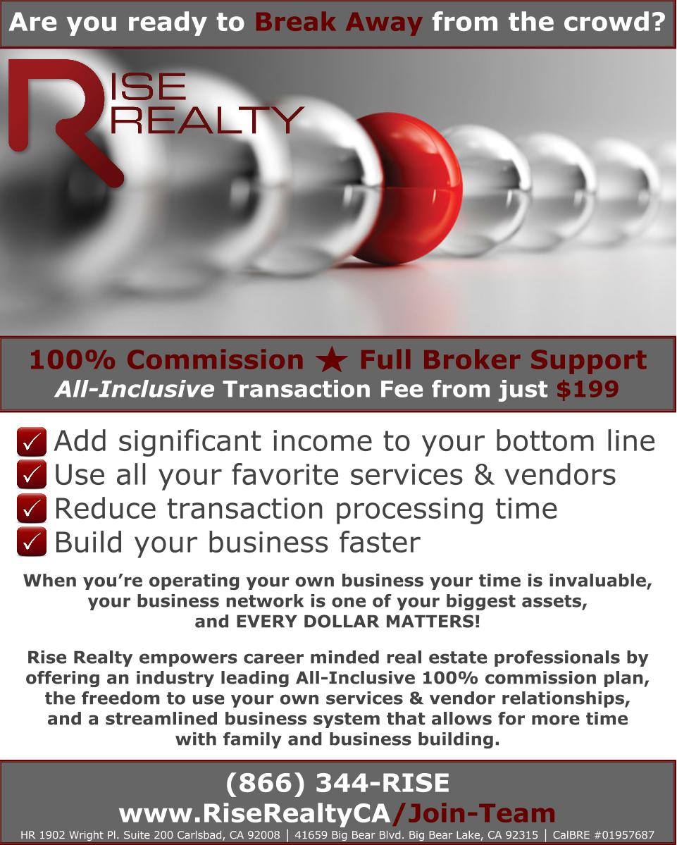100 commission real estate san diego