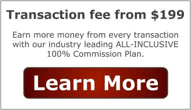 100% commission real estate