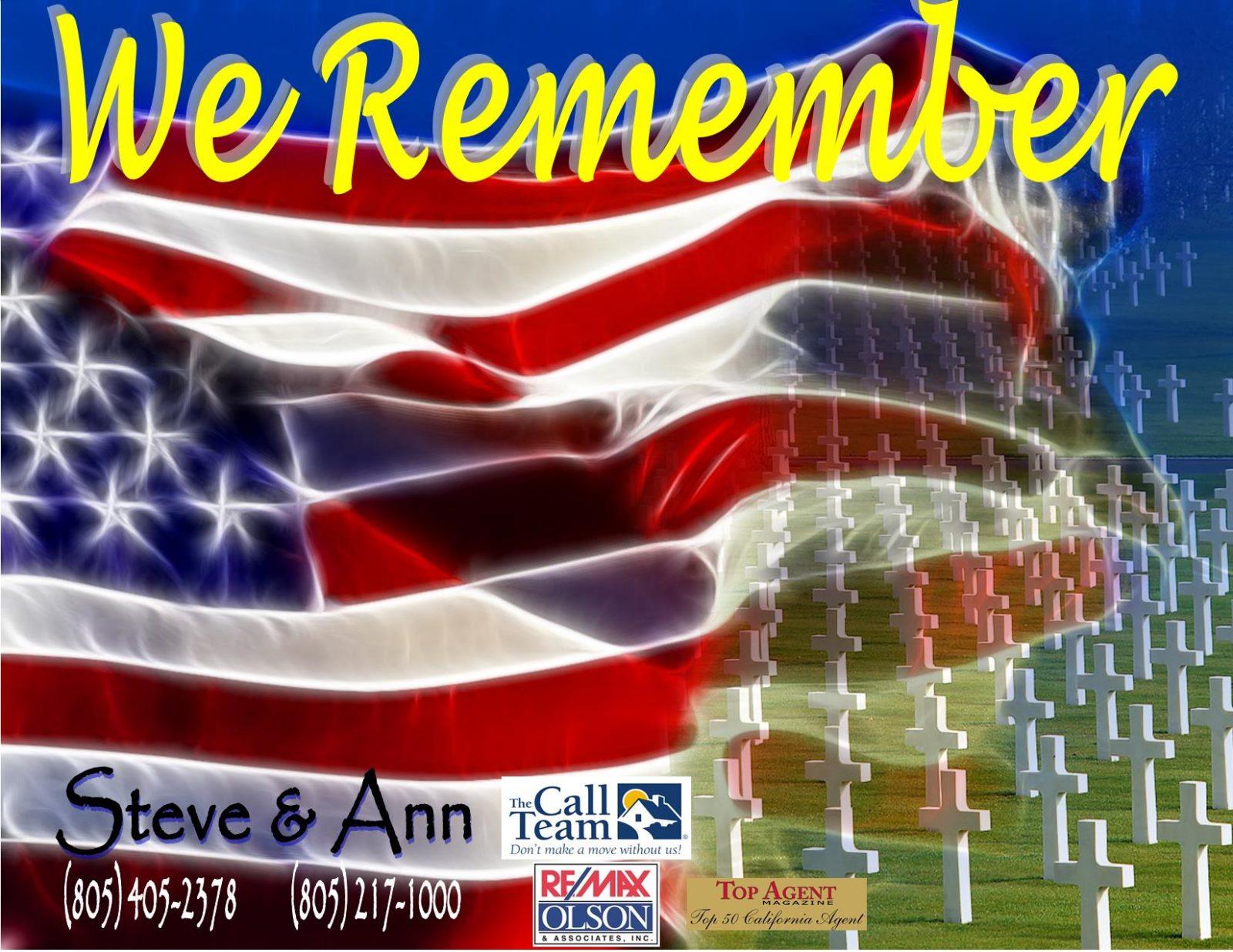 5.29.17 Memorial Day