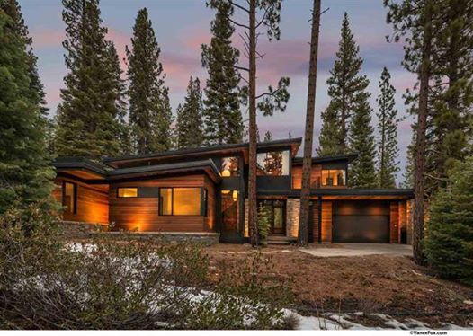 Luxury prefab homes in martis camp brian mcgeever and for Luxury lake tahoe homes for sale