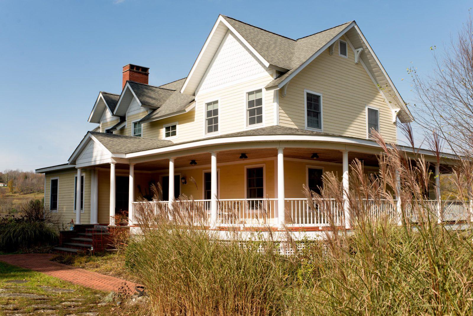 Stately Custom Built Farmhouse in Hurleyville