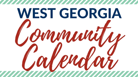 West Georgia Community Calendar