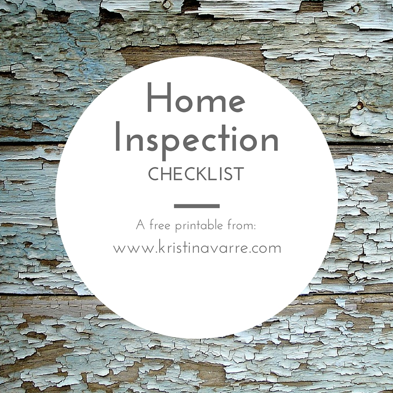 Home Inspection Checklist   Real Estate  Homes For Sale  Villa