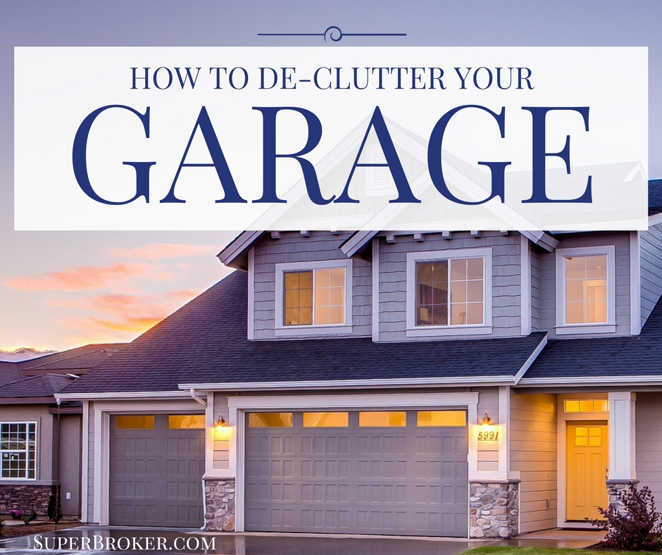 How to Declutter Your Garage - Sell a Home in Lakewood, CA