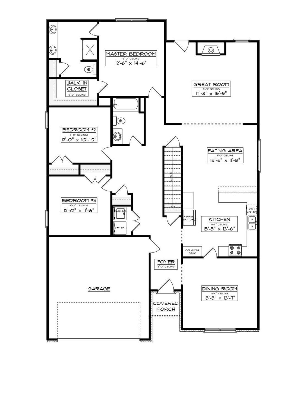 Floor Plan Samples | New Construction Floor Plans Commonwealth Real Estate Professionals