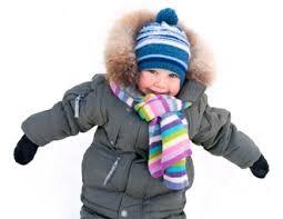 kid in a coat