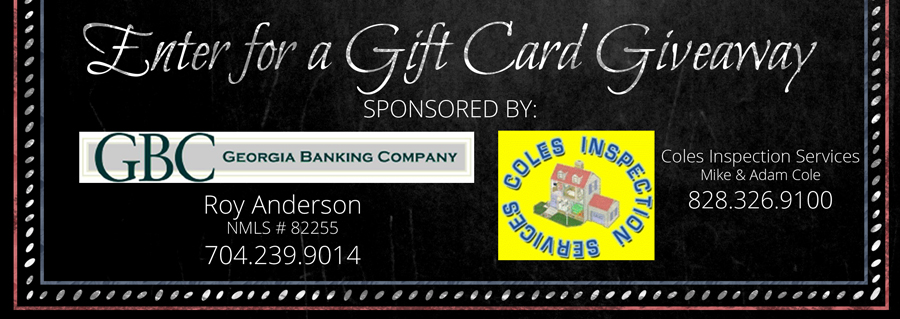 Enter for a Chance to Win a Gift Card!