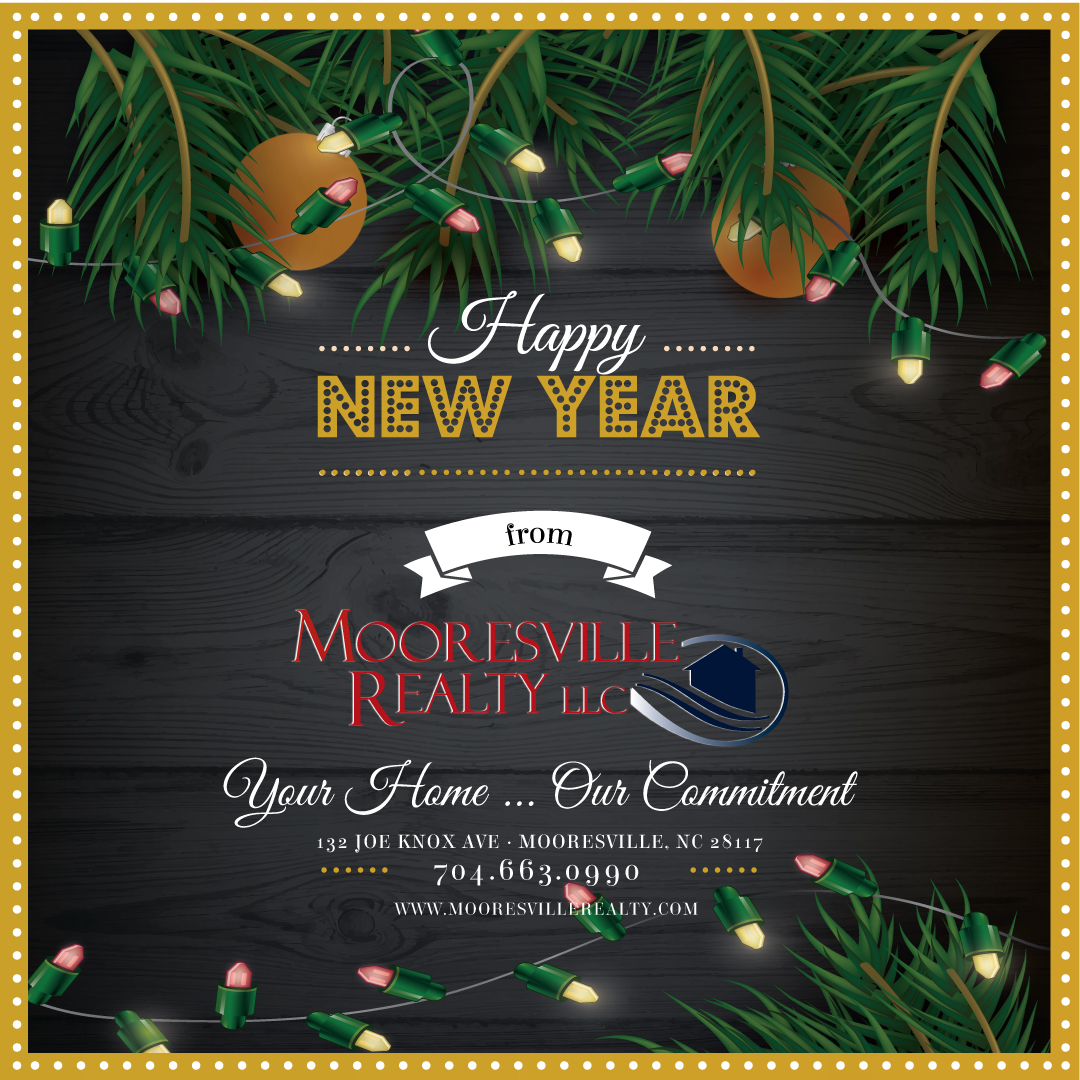 Happy New Years from Mooresville Realty