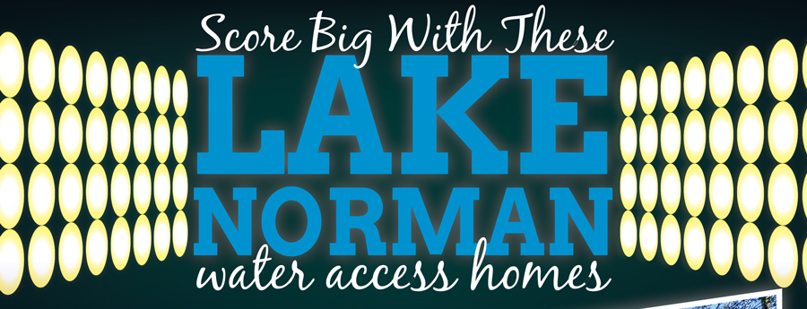 Score Big with These Lake Norman Water Access Homes