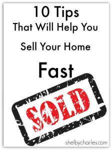 10 tips to sell your home fast logo