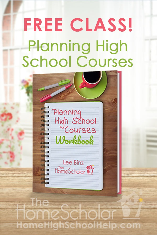 Planning High School Courses free class