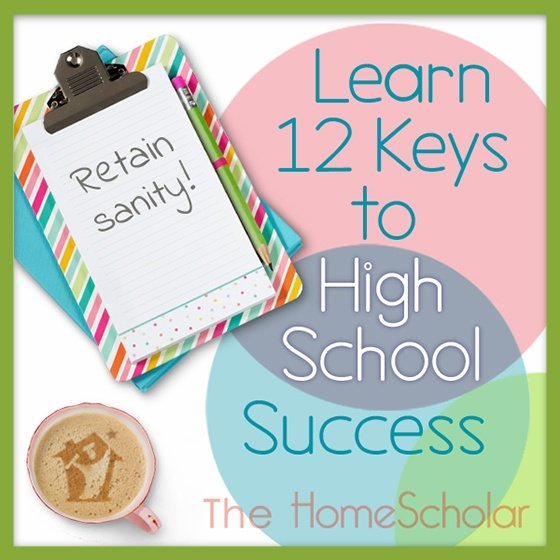 FREE CLASS: 12 Keys to High School Success  #Homeschool @TheHomeSchola