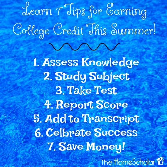 7 Tips for Earning College Credit this Summer