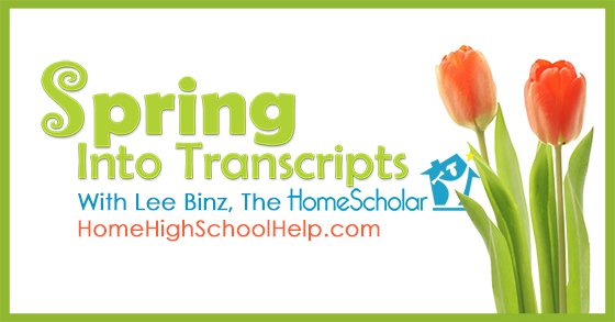 Spring Into Transcripts - RESCHEDULED! Register NOW for my free class!