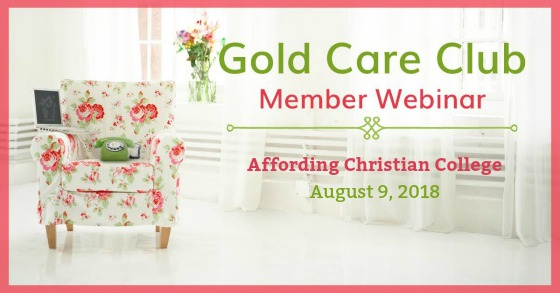 Gold Care Club Webinar: August 9, 2018