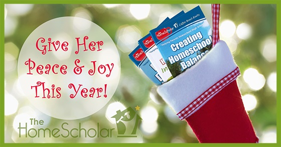 Give your favorite homeschool mom a gift that will give her peace and joy this year!