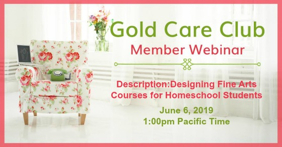 Gold Care Club Webinar: June 6, 2019