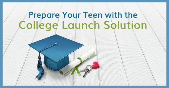 The College Launch Solution - Prepare your student to launch into college and life!