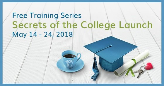 [Free Training Series] Secrets of the College Launch, May 14 - 24, 2018