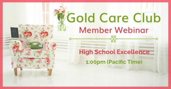 Gold Care Club Webinar: October 11, 2018